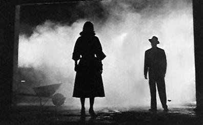 Classic Film Noir shot.