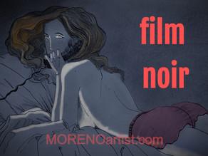 Paint it Black... FILM NOIR