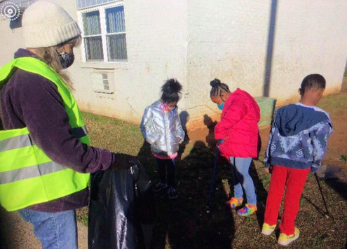 Community clean up 2/20/2021