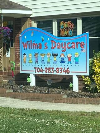 Appreciation buckets for Wilma's Daycare staff. 5/5/2021