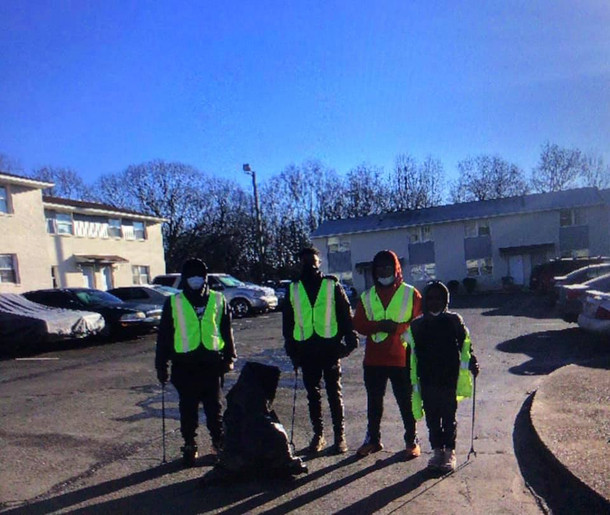 Cleaning our community