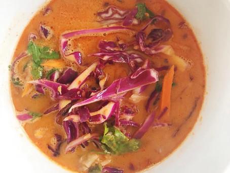 Thai Coconut Curry Noodle Soup