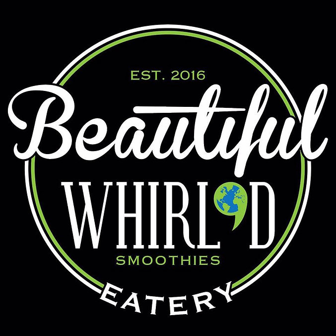 Beautiful Whirl'd Smoothies & Eatery's beautiful logo