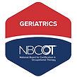 NBCOT Geriatrics Specialty Certification logo