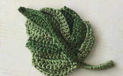Irish crochet lessons united states irish crochet lab crochet leaf modern irish crochet motif ccuart Images