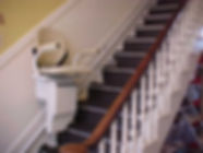 stair glide to decrease fall risk and increase independence