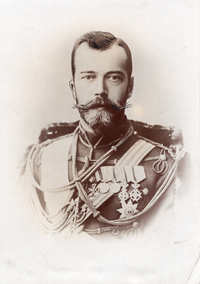 1890's Czar Nicholas, Incredible Photo o