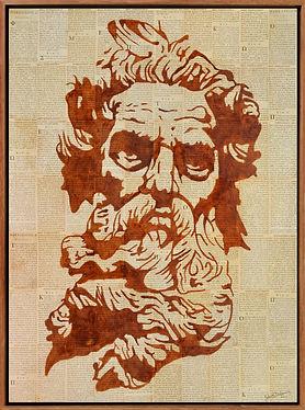 POSEIDON; GOD; GREEK; POPART; PORTRAIT; ZEUS; GREECE; ANTIQUITY