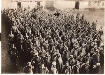 1915 Russian Prisoners in Austria, Early