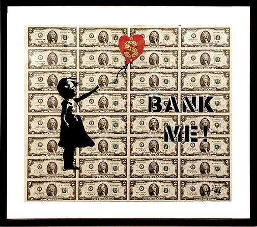 DOLLAR USD ART BANKSY GABRIEL DUFOURCQ