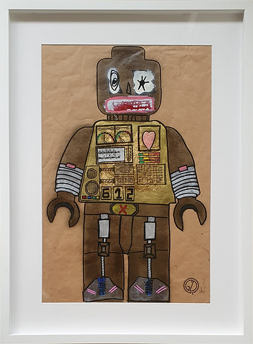 "ROBOT SERIES ""Harthy machine"""