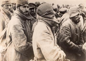 1942 Bataille de Stalingrad Prisonniers