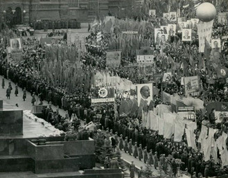 1964 Lenin Moscow Russia Parade Annivers