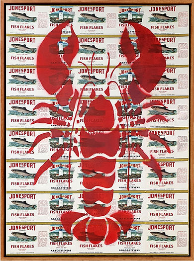 LOBSTER POP ART