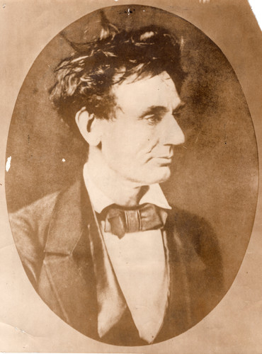 1850's Abraham Lincoln, Portrait of an A