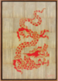 CHINESE DRAGON STENCLS