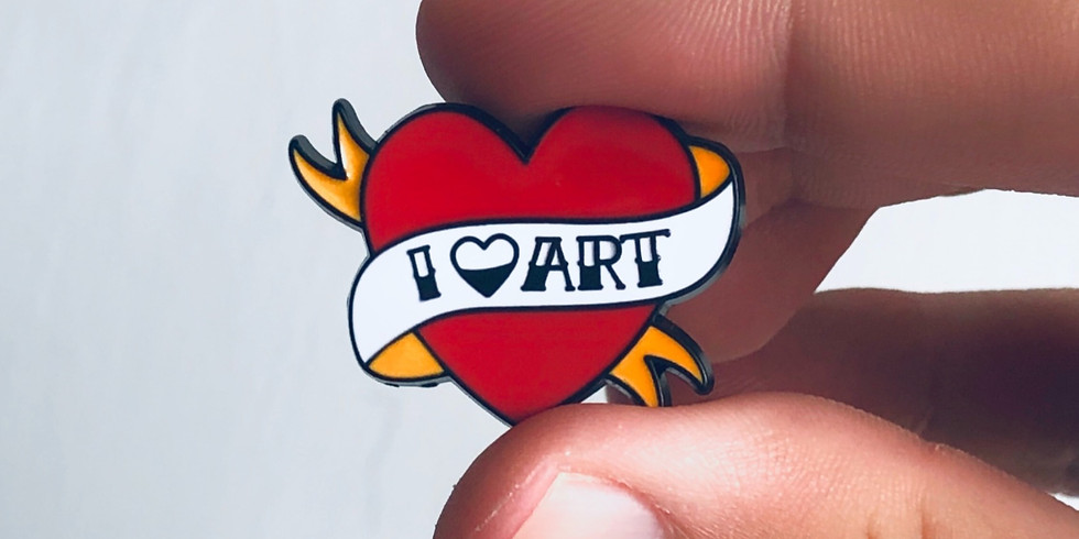 Make your own Flair Pins! - school holidays