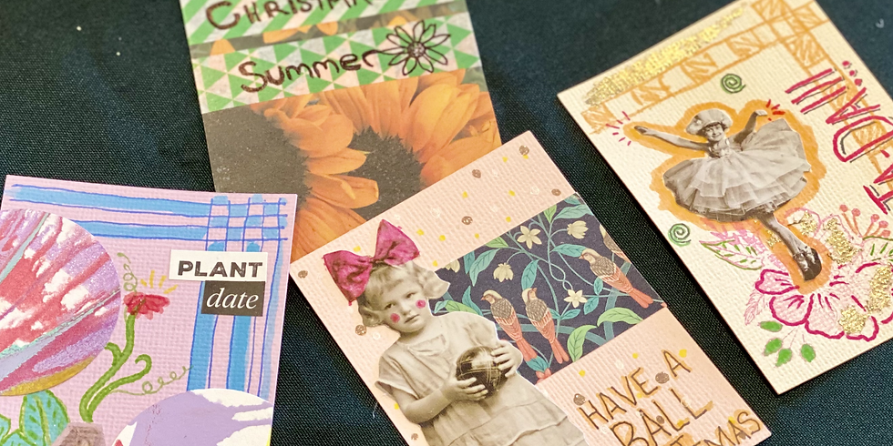 Make your own Artist Trading Cards - school holidays