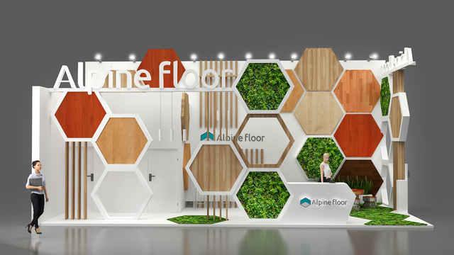 Дизайн стенда Alpine Floor