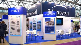 Застройка выставочного стенда Ferrostaal