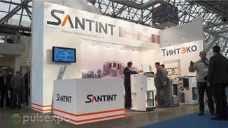 Выставочный стенд для компаний Santint, Тинтэко