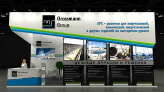 Design of the exhibition stand Grossmann Group