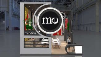 Exclusive exhibition stand Meridian