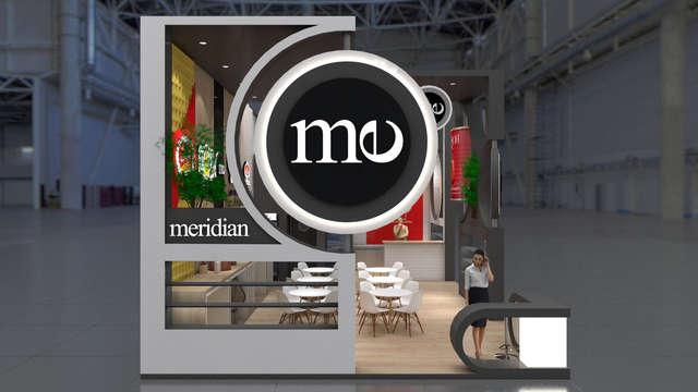 Эксклюзивный выставочный стенд Меридиан