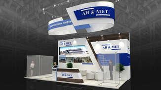 Дизайн выставочного стенда AH&MET