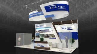 Exhibition stand design AH & MET