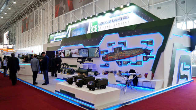 Выставочный стенд Казахстан Инжиниринг