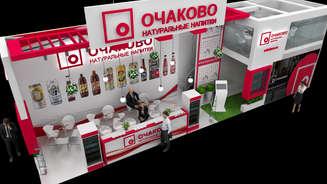 Design of a two-story stand OCHAKOVO