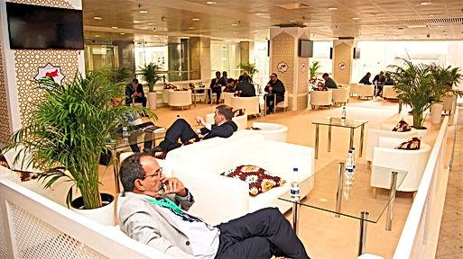 Застройка Lounge зоны на выставке