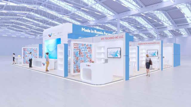 Выставочный стенд Российский Экспортный Центр