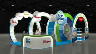 Design of the exhibition stand Liding