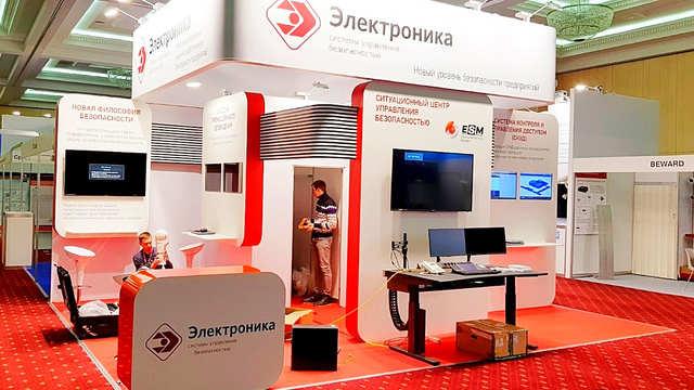 Выставочный стенд ПСЦ Электроника