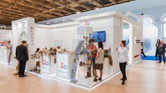 """展覽攤位在展覽""""阿拉伯博覽會2019"""""""