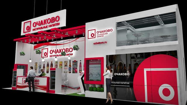Дизайн двухэтажного стенда ОЧАКОВО