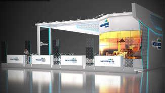 Дизайн выставочного стенда Mouzenidis-travel