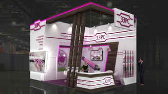 Design of the exhibition stand ZERS