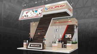 Guray exhibition booth design