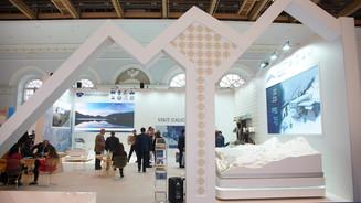 """展览摊位在展览""""阿拉伯博览会2019"""""""