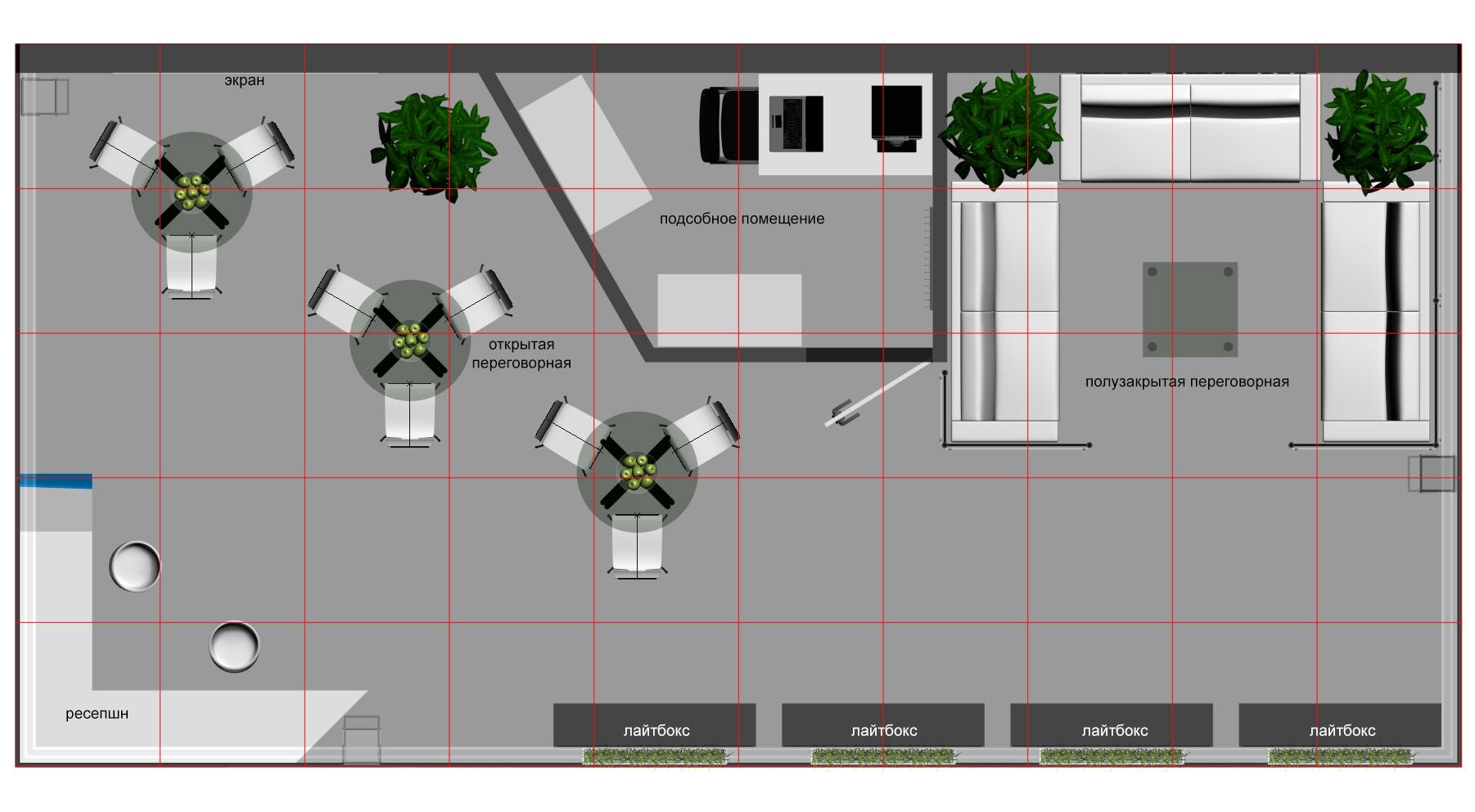 План выставочного стенда