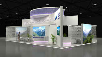 Design of the exhibition stand of the North-Caucasian Federal District