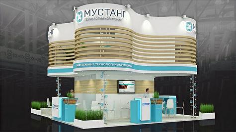 Дизайн двухэтажного выставочного стенда