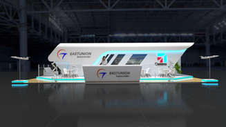 Eastunion exhibition stand design project