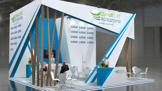 Exhibition stand at the exhibition TransRussia