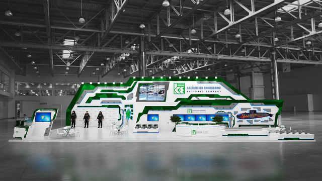 Дизайн выставочного стенда Казахстан Инжиниринг