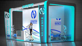Exhibition stand design Pharmstor