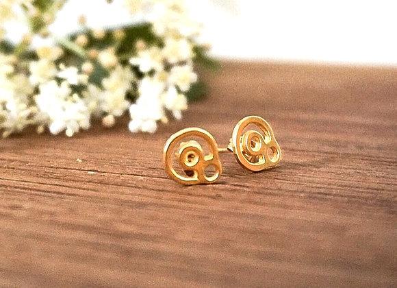 BeYou Energetic Earrings Gold